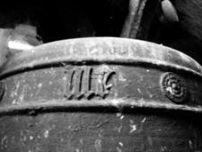 Chycina (kościół filialny) - dzwon (datowanie - pocz. XVI w.)
