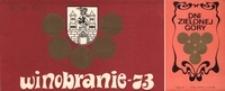 Winobranie - 73: [zaproszenie na Koncert Inauguracyjny 24 września 1973 r.]