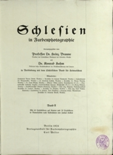 Schlesien in Farbenphotographie: [Textband], Band II