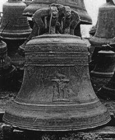 Bledzew (kościół parafialny, obecnie w Esslingen?) - dzwon (datowanie - 1669 r.)