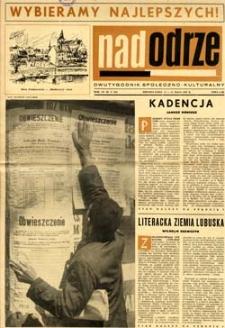 Nadodrze: dwutygodnik społeczno-kulturalny, 15-31 maja 1965