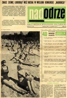 Nadodrze: dwutygodnik społeczno-kulturalny, 1-15 sierpnia 1965