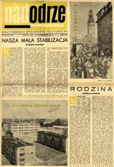 Nadodrze: dwutygodnik społeczno-kulturalny, 1-15 października 1965