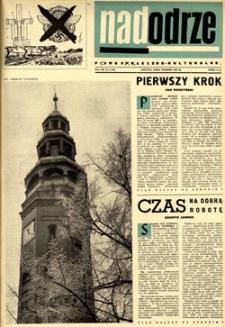 Nadodrze: pismo społeczno-kulturalne, marzec 1963