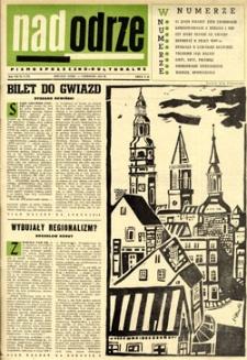 Nadodrze: pismo społeczno-kulturalne, czerwiec 1963