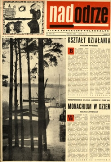 Nadodrze: pismo społeczno-kulturalne, lipiec 1963