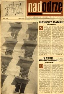 Nadodrze: dwutygodnik społeczno-kulturalny, 15-30 stycznia 1966