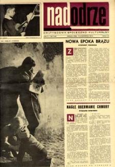 Nadodrze: dwutygodnik społeczno-kulturalny, 15-30 kwietnia 1966