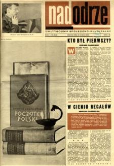 Nadodrze: dwutygodnik społeczno-kulturalny, 15-31 maja 1966