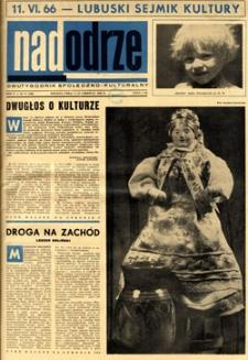 Nadodrze: dwutygodnik społeczno-kulturalny, 1-15 czerwca 1966