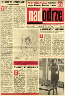 Nadodrze: dwutygodnik społeczno-kulturalny, 15-31 lipca 1966