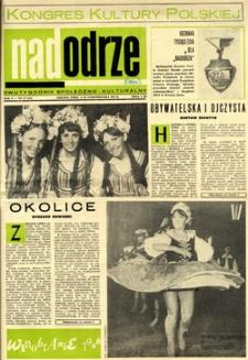 Nadodrze: dwutygodnik społeczno-kulturalny, 1-15 października 1966