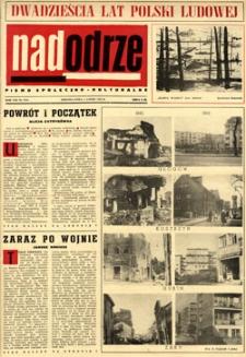 Nadodrze: pismo społeczno-kulturalne, lipiec 1964