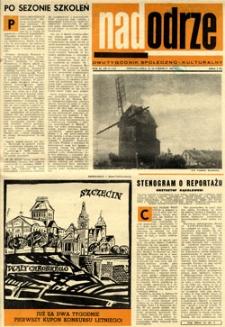 Nadodrze: dwutygodnik społeczno-kulturalny, 15-30 czerwca 1967