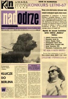 Nadodrze: dwutygodnik społeczno-kulturalny, 1-15 lipca 1967