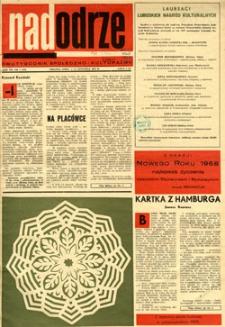 Nadodrze: dwutygodnik społeczno-kulturalny, 1-15 stycznia 1968