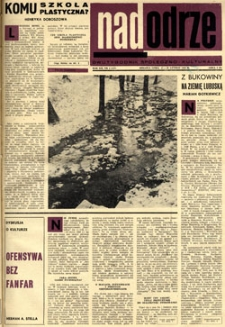 Nadodrze: dwutygodnik społeczno-kulturalny, 15-28 lutego 1968