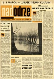 Nadodrze: dwutygodnik społeczno-kulturalny, 1-15 marca 1968