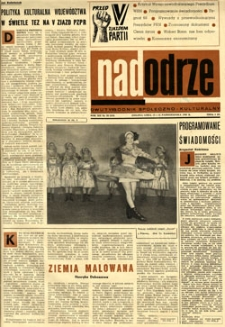 Nadodrze: dwutygodnik społeczno-kulturalny, 15-31 października 1968