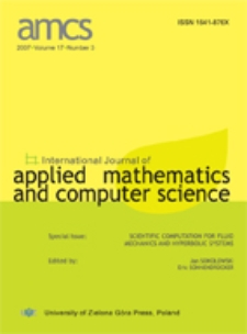 International Journal of Applied Mathematics and Computer Science (AMCS) 2007 Volume 17 Number 3