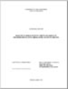 Koncepcje społeczeństwa obywatelskiego w filozofii społecznej liberalizmu i komunitaryzmu