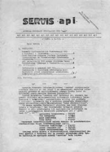 Serwis API (Agencja Przekazu Informacji NZS), R. 1 Nr. 3/81 (20 III - 30 III)