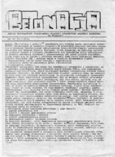 Betonacja: Serwis Informacyjny Uczelnianego Komitetu Strajkowego Akademii Rolniczej we Wrocławiu, nr 12 (30.11.81r.)