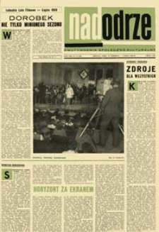 Nadodrze: dwutygodnik społeczno-kulturalny, nr 13 (21 czerwca - 4 lipca 1969)