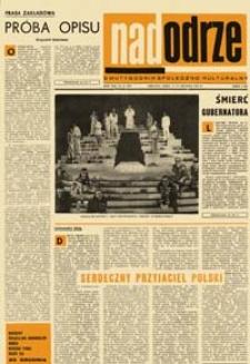 Nadodrze: dwutygodnik społeczno-kulturalny, nr 25 (6-19 grudnia 1969)