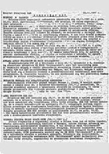 Komunikat Komitetu Strajkowego U[niwersytetu] A[dama] M[ickiewicza], nr 7 (29.11.1981 r.)
