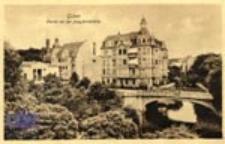 Gubin / Guben; Partie an der Jung fernbrücke