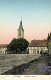 Przewóz / Priebus; Evangel. Kirche.