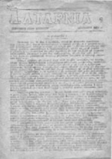Latarnia: niezależne pismo studentów, nr 1 (październik 1980 r.)
