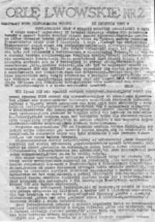 Orlę Lwowskie, nr [1] (12/13 marca 1981 r.)