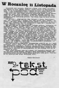 Podtekst: pismo NZS KUL, nr 2 (13)
