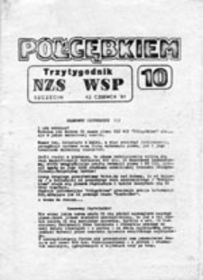 Półgębkiem: trzytygodnik NZS WSP Szczecin, nr 10 (12 czerwca 81)
