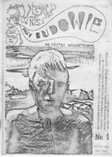 Przy budowie: pismo Niezależnego Zrzeszenia Studentów F[ilii] U[niwersytetu] W[arszawskiego], nr 1 (grudzień 1980)