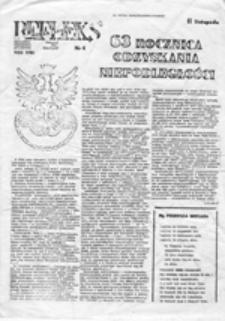 Refleks: niezależny miesięcznik studentów NZS UWr, nr 4 (specjalny) (listopad 1981)