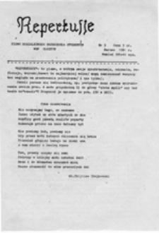 Reperkusje: pismo Niezależnego Zrzeszenia Studentów WSP Olsztyn, nr 5 (marzec 1981 r.)