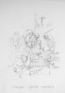 Żebracy w klasztorze