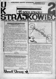 Strajkowiec, nr 1 (20 listopada 1981 r.)