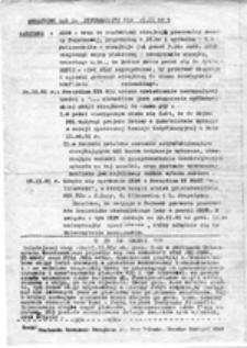 Strajkowy serwis informacyjny NZS UWr, nr 3 (20.11.81 r.)