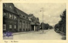 Żagań / Sagan; Der Bahnhof