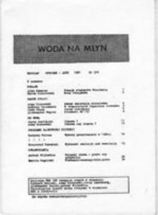 Woda na młyn, nr 1 (listopad 1980)