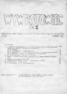 Wywrotowiec: nieregularne pismo Międzyuczelnianego Komitetu Obrony Więźniów Politycznych w Lublinie, nr 2 (czerwiec 1981)