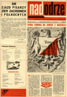 Nadodrze: dwutygodnik społeczno-kulturalny, nr 9 (26 kwietnia - 9 maja 1970)