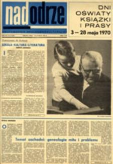 Nadodrze: dwutygodnik społeczno-kulturalny, nr 10 (10-23 maja 1970)