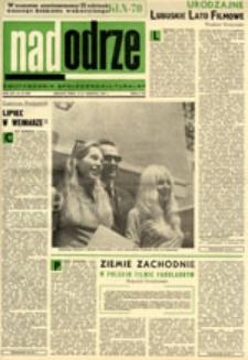 Nadodrze: dwutygodnik społeczno-kulturalny, nr 16 (2-15 sierpnia 1970)