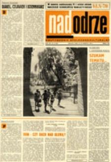 Nadodrze: dwutygodnik społeczno-kulturalny, nr 17 (16-29 sierpnia 1970)