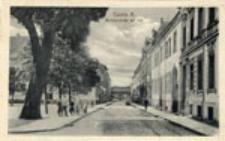 Kostrzyn Stare Miasto / Cüstrin - Altstadt; Berlinerstraße mit Tor